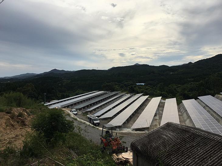 枕崎太陽光発電所画像3