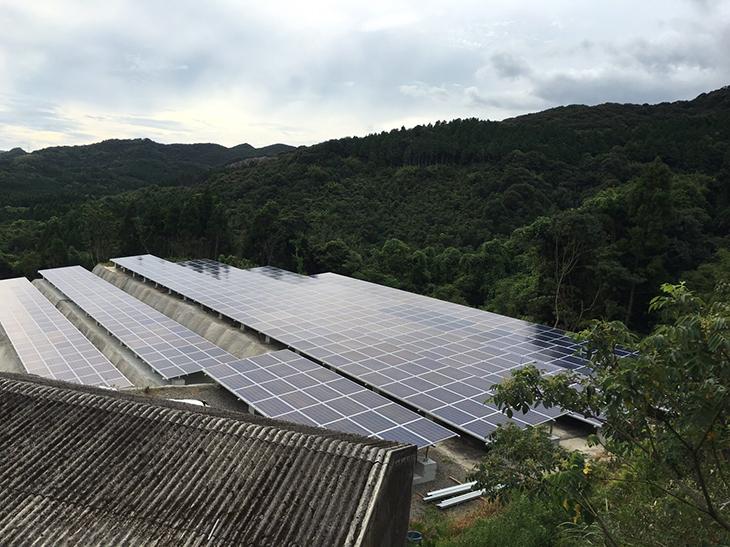 枕崎太陽光発電所画像4